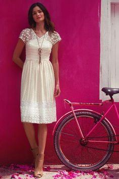 Poema Lace Dress #anthrofav