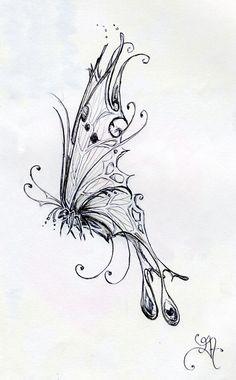 Tattoo butterfly mandala colour ideas for 2019 Butterfly Mandala Tattoo, Butterfly Outline, Butterfly Sketch, Butterfly Tattoo Designs, Origami Butterfly, Cool Art Drawings, Pencil Art Drawings, Art Drawings Sketches, Tattoo Drawings