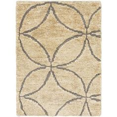 House of Hampton Hand-Knotted Beige Area Rug Rug Size: 2' x 3'