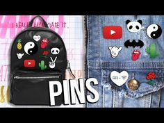 ¡RENUEVA Y PONLE ONDA A TUS OUTFITS! - Parches/Pins ❤ - Yuya - YouTube