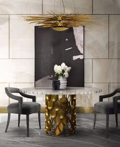 How To Decorate With Art For A Chic & Creative Home Décor. Discover more here: #interiordesign #designtrends #luxuryfurniture #decoration #homedecor #int