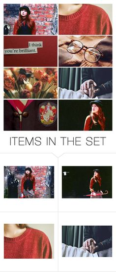 """""""amelia pond / / gryffindor"""" by zaynscalpal ❤ liked on Polyvore featuring art"""