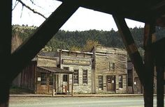 Virginia City Ghost Town, Montana.  Spring 2001.