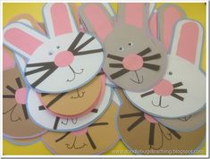 Easter Bunny Craft (free download)