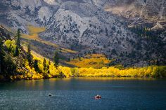Another picture of Convict Lake.