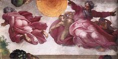 Más clases de arte: Miguel Ángel, Bóveda de la Capilla Sixtina, 1508-1512