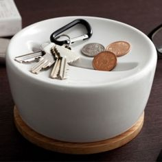 Coin and keys valet