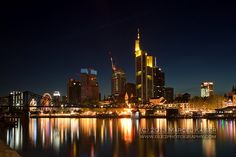 Frankfurt Skyline by Marcel Kaiser on 500px