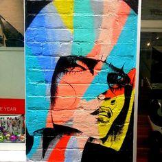 Rainbow Girl #streetart