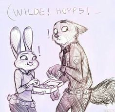 Lol Nick and Judy stealing some goodies 😂