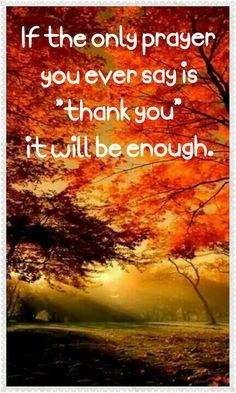 Thank you prayet