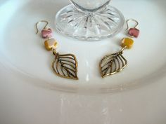 Bronze, Mookite, Gift, Earrings, Jewelry, Semi Precious, Gemstone, www.rstdesigns.etsy.com, $30.00