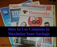 How to Use Coupons to Maximize Your Savings