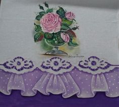Lace Painting, Cutwork, Napkins, Applique, Embroidery, Tableware, Diy, Ideas, Fabric Crafts