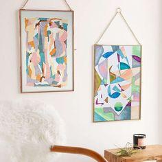 "11 mentions J'aime, 1 commentaires - Art | Inspiration (@vanessapeka) sur Instagram : ""Set of 2 - Home decor inspiration - Original painting artwork #hogar #casa #interiorinspo #staging…"""