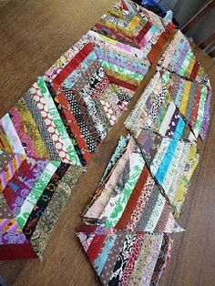 Love scrappy quilts!