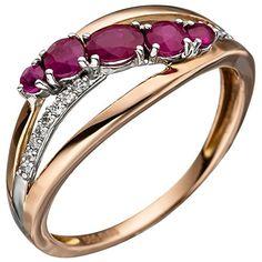 Dreambase Damen-Ring teilrhodiniert 14 Karat (585) Rotgol... https://www.amazon.de/dp/B01IO7HFV2/?m=A37R2BYHN7XPNV
