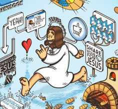 Jesus 2.0 - Jesus Christ in the social network era. by Lorenzo Milito