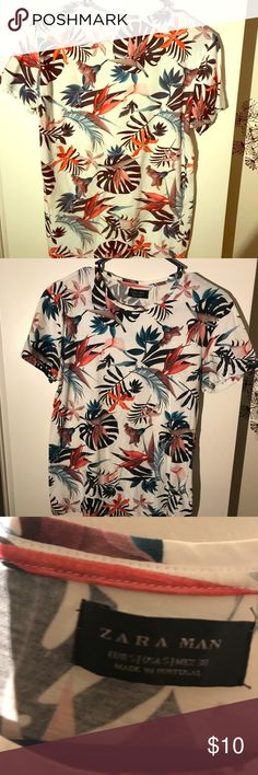 Zara men T-shirt. Perfect condition Great color good fit Zara Shirts Tees - Short Sleeve