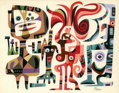 Jim Flora, ilustrador de muchas tapas de discos de Jazz