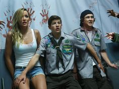 Watch the Scouts Guide to the Zombie Apocalypse trailer. The horror comedy stars Tye Sheridan, Logan Miller, Joseph Morgan and Sarah Dumont. Zombie 2, Zombie Apocalypse, Scouts, Battlefield Bad Company, Spring Movie, The Good Lie, The Scout Guide, Paramount Pictures, Disney Marvel