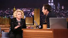 Joan Rivers returns to 'Tonight Show' as guest after 26-year absence - TODAY.com