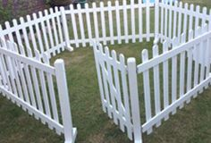 Heavy Duty Free Standing White Picket Wooden Fences Buena Vista Fence Wooden Fence Dog Fence
