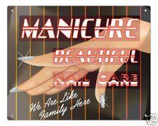 Vintage Manicure Kit Leather Grooming Beauty Salon Total Retro Mid Century AllVintageLadyetsy