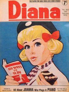 Diana Comic for Girls