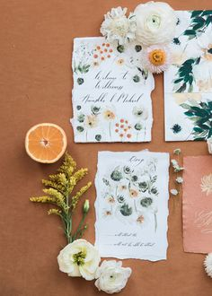 Floral wedding invitations with daisies and watercolour details for an elegant intimate wedding int eh country. Homemade Wedding Invitations, Country Wedding Invitations, Custom Invitations, Shower Invitations, Illustrated Wedding Invitations, Floral Wedding Stationery, Watercolor Wedding Invitations, Floral Watercolor, Watercolour