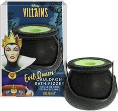 Disney Discovery- Evil Queen Cauldron Bath Fizzer - beauty - Disney Inspired Makeup, Disney Evil Queen, Disney Divas, Beauty Regimen, Relaxing Bath, Sodium Bicarbonate, Love To Shop, Cauldron, Disney Villains