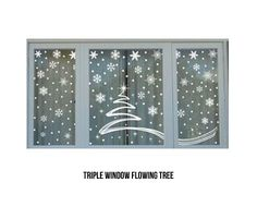 From $12 for Christmas Window Stickers