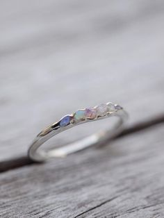 Opal Fossil Ring // Hidden Gems - Gardens of the Sun Jewelry