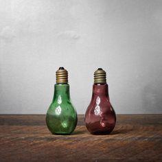 Light Bulb Salt n' Pepper Shakers