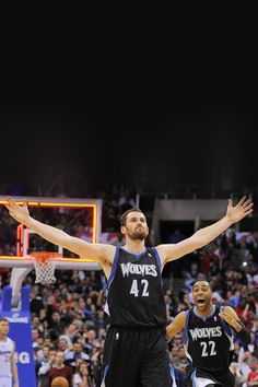 Kevin Love after draining a game winning 3 against the Clips in LA a734708e3