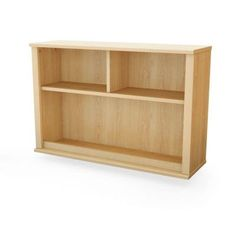 South Shore Furniture Clever Natural Maple Wall Storage-3613110 at The Home Depot