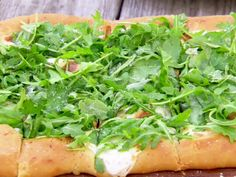 Fresh Herb Pizza Recipe : Ree Drummond : Food Network - FoodNetwork.com