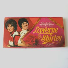 Vintage 70s LAVERNE and SHIRLEY Boardgame - awesomeness