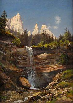 Rivers, Mountains, Nature, Travel, Art, Art Background, Naturaleza, Viajes, Kunst