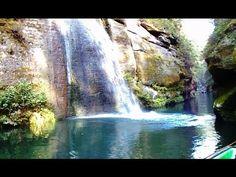 Lovely fake waterfall