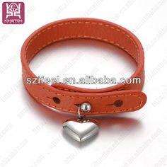 sport jewelry PU leather bracelets aliexpress