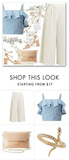 """""""Add Some Flair: Ruffled Tops"""" by andrejae ❤ liked on Polyvore featuring Osman, Miss Selfridge, Charlotte Russe, Rachel Rachel Roy, Loeffler Randall, polyvoreeditorial, polyvorecontest and ruffledtops"""