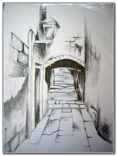 drawing pencil scenery landscape easy drawings cool simple landscapes sketch sketches shading tutorials