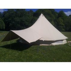 Sandstone Bell Tent Canopy   Boutique Camping