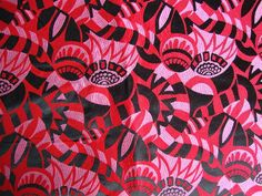 Antique 1920s Art Deco Jacquard Upholstery Fabric by CuteBrightFun, $600.00