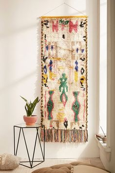 Slide View: 1: Vintage Inspired Wall Hanging