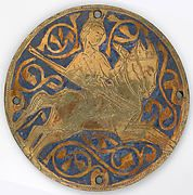 Medallion with Varlet with Horn and Hound | French | The Met