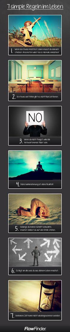 7 simple Regeln im Leben                                                       …