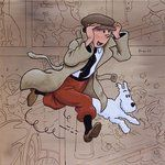 TINTIN and Co by ~VicNaa on deviantART