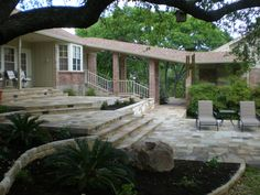 Around The Tree Austin Flagstone Patios Flagstone